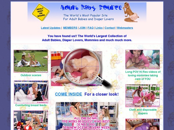 Accounts Of Adult Baby Source