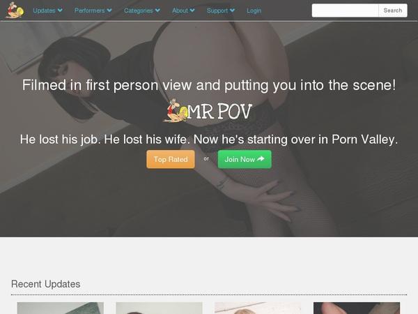 Mr Pov Free Account
