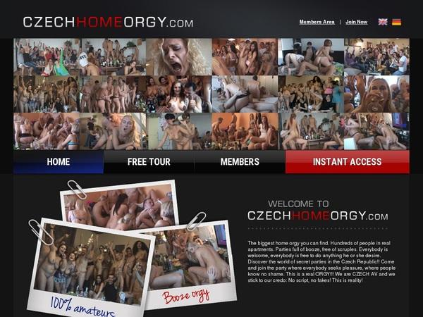 Czechhomeorgy Join By EU Debit