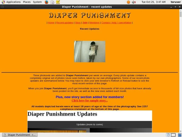 Free Diaperpunishment.com Account And Password