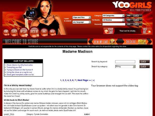 MadameMadison Xxx Passwords