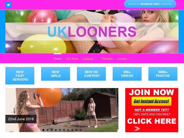 Free Password To UK Looners