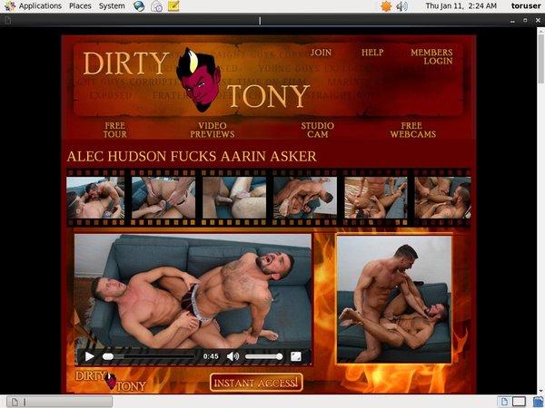 1 Dirty Tony Cuentas