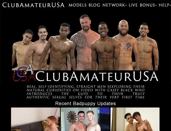 Clubamateurusa.com アカウント