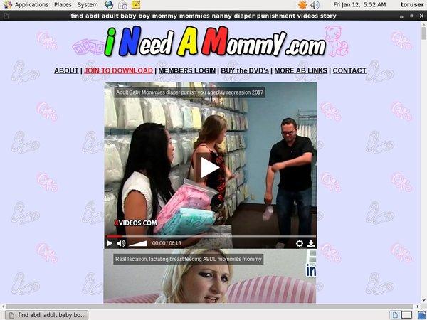 Ineedamommy Free Account And Password