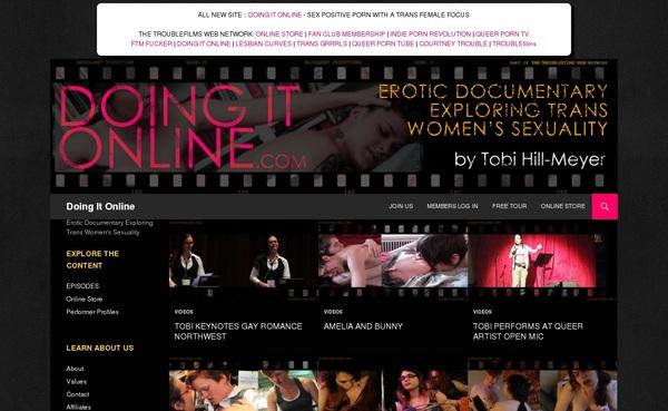 Doing It Online Gay
