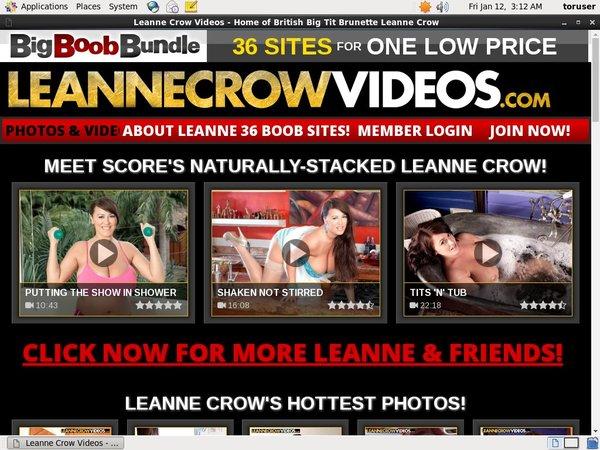 Leannecrowvideos Threesome
